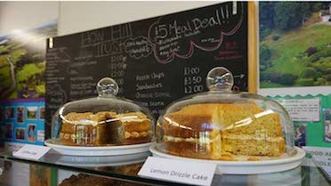tearoom cakes at how hill